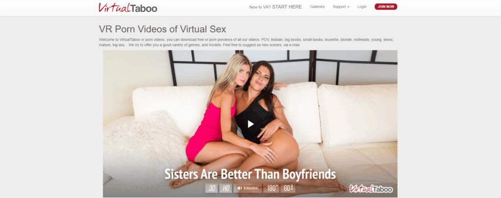 VirtualTaboo Homepage