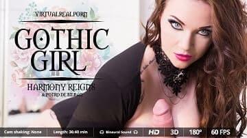 Gothic Girl VirtualRealPorn Pic