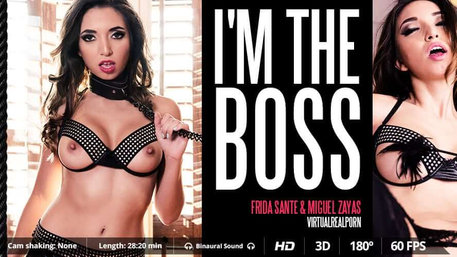 I'm the boss Frida Sante