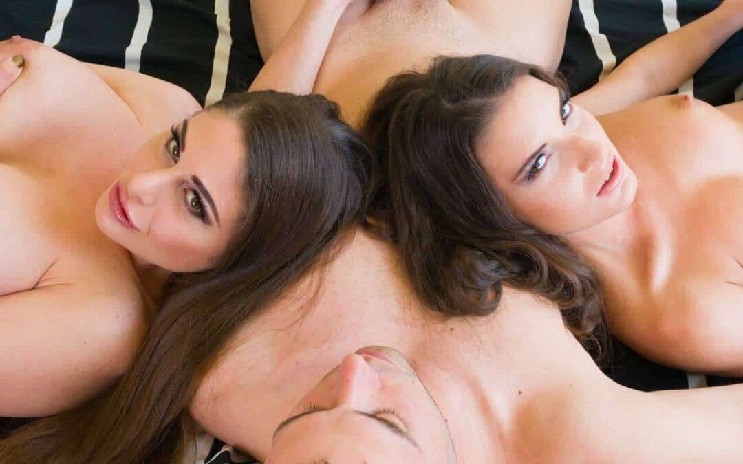 TOP 5 Threesome Scenes in VR