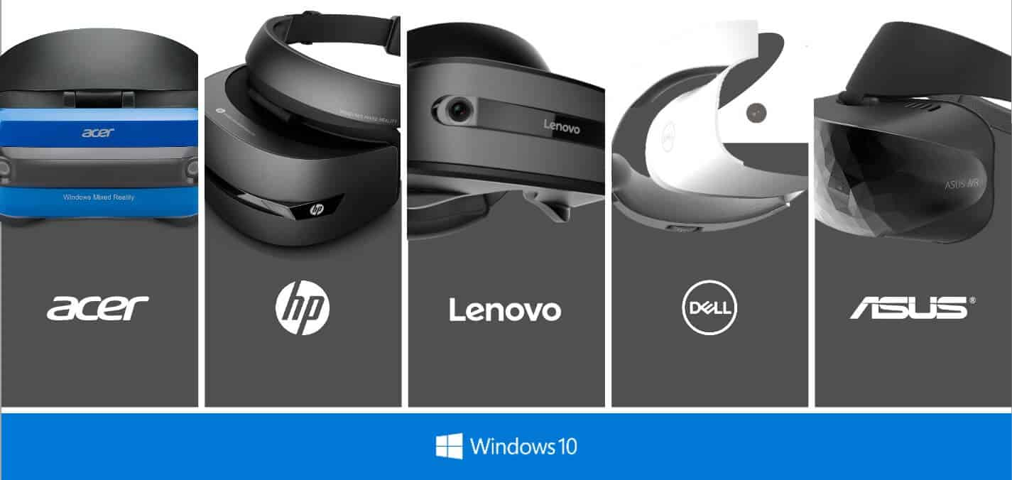 windows mixed reality OEM headsets
