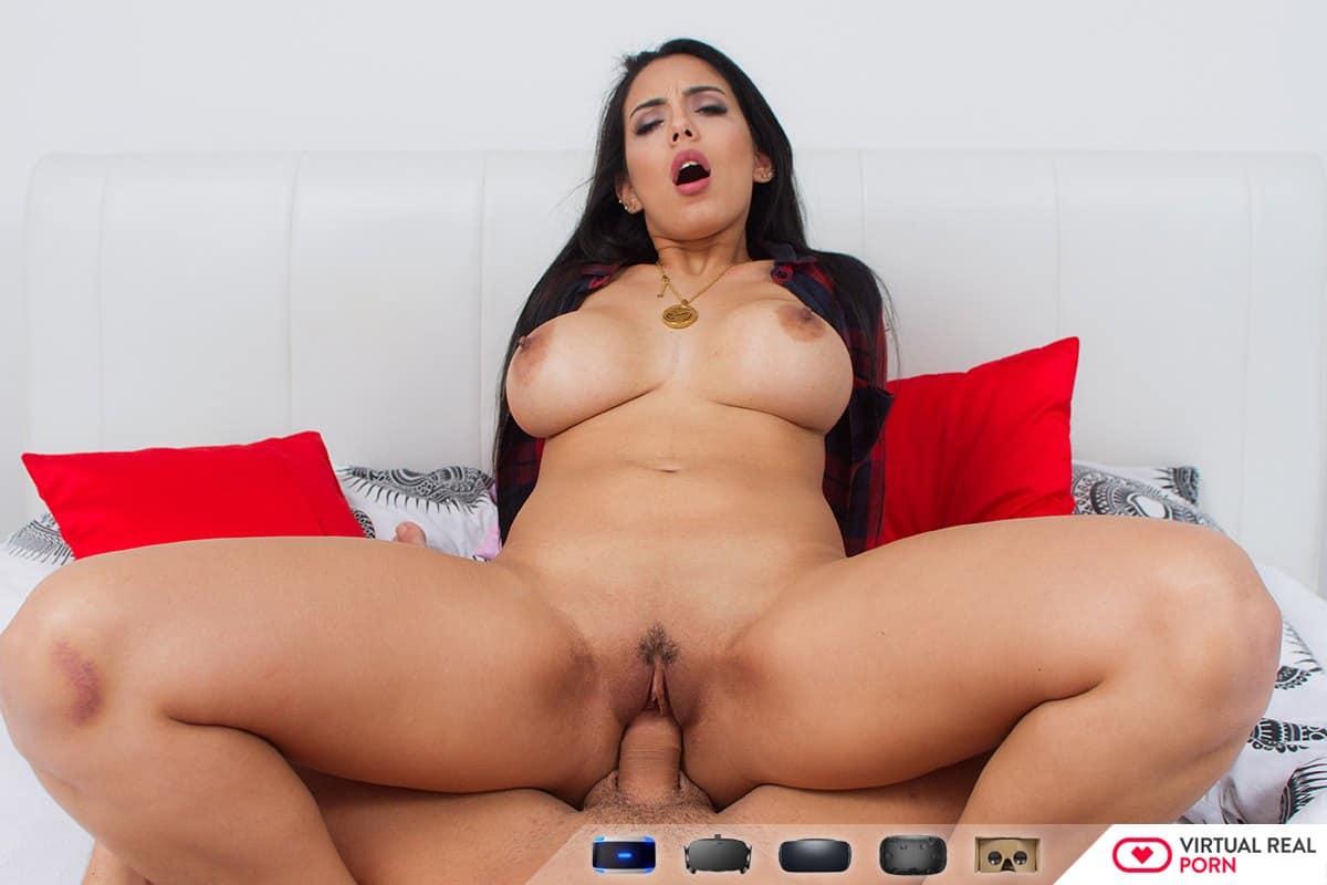 Big tits latina Katrina Moreno fucks hard